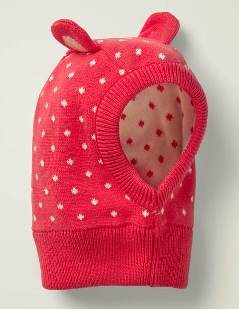 Novelty Knitted Hat - Carmine Red