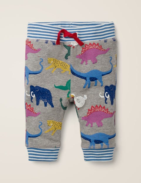 Reversible Jersey Trousers - Multi Baby Prehistoric