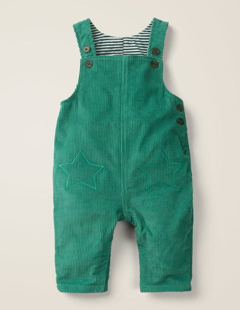 Cord Dungaree - Linden Green