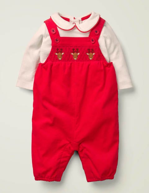 Nostalgic Reindeer Play Set - Rockabilly Red Reindeer