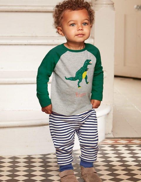 T-Shirt mit Dinosaurier-Print