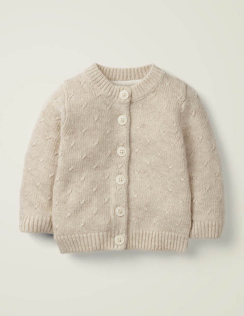 Novelty Wings Cardigan - Oatmeal Marl Fairy Wings