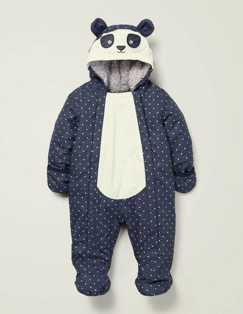 Novelty Snowsuit - Constellation Grey Panda