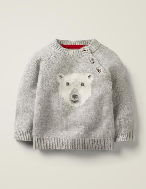 Polar Bear Cashmere Sweater