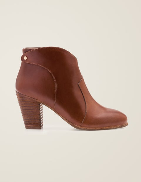 Hoxton Ankle Boots - Tan