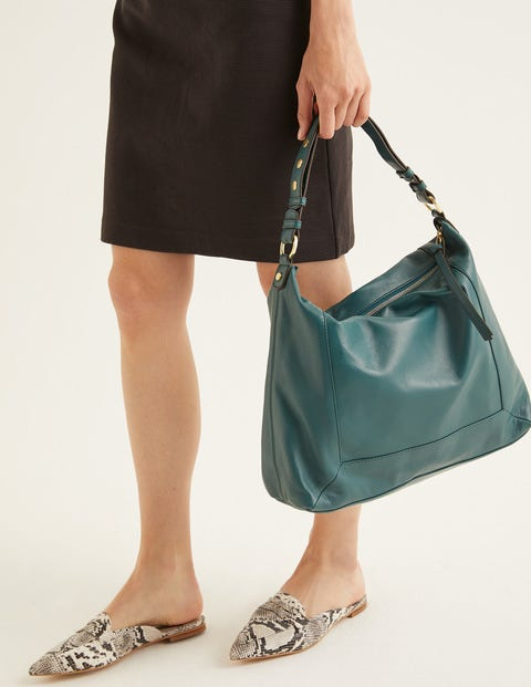 Stamford Shoulder Bag - Woodland Green