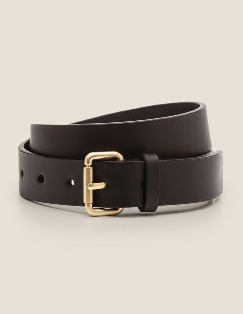 Classic Buckle Belt - Black