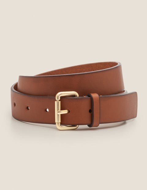 Classic Buckle Belt - Tan