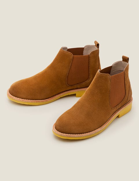 Oakington Ankle Boots - Gingerbread