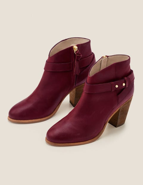 Stratford Ankle Boots - Ruby Ring