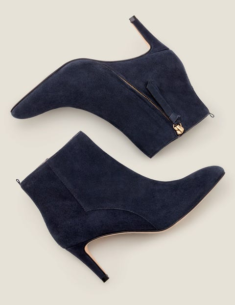 Bracknell Ankle Boots - Navy