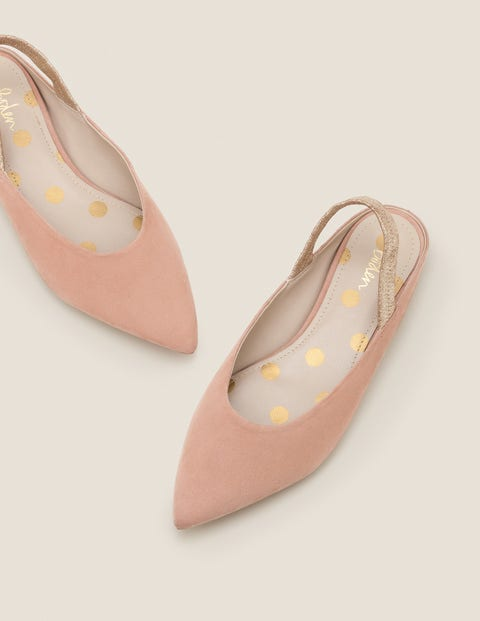 Hannah Slingbacks - Fawn Rose/Gold