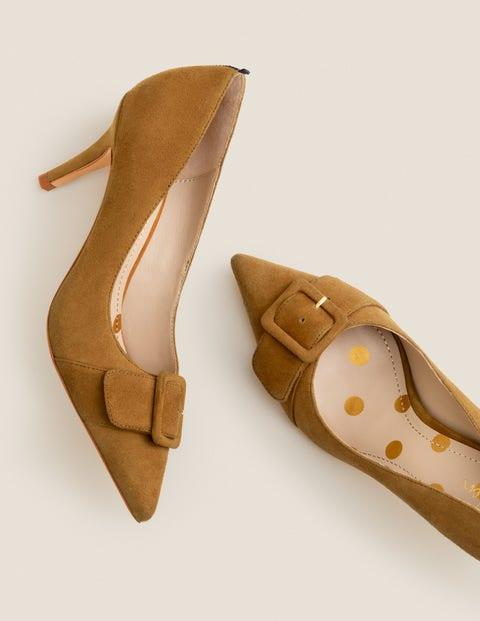 Chaussures À Talons Mi-Hauts Renee - Pain d'épices