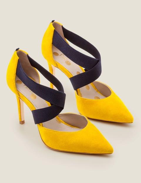 Arabella Heels - Saffron