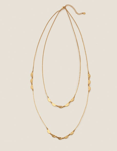 Scallop Longline Necklace