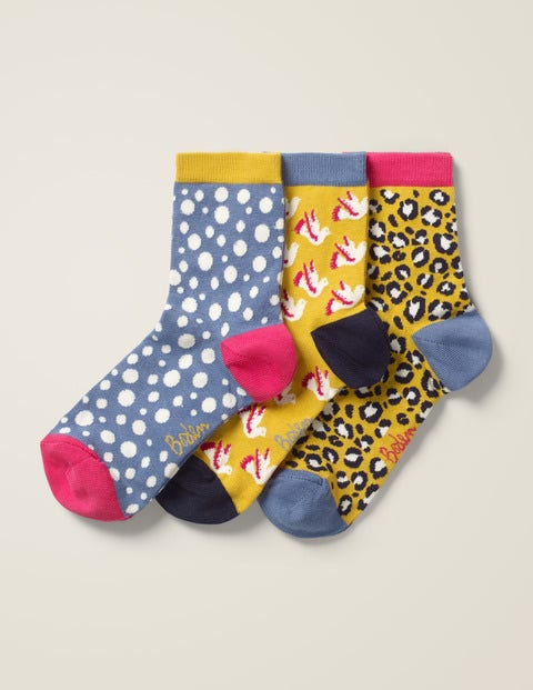 Three Pack Ankle Socks