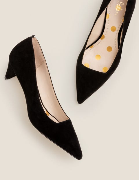 Dora Kitten Heels - Black