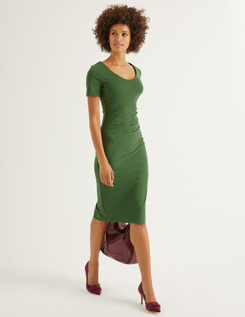 Honor Ponte Dress - Broad Bean
