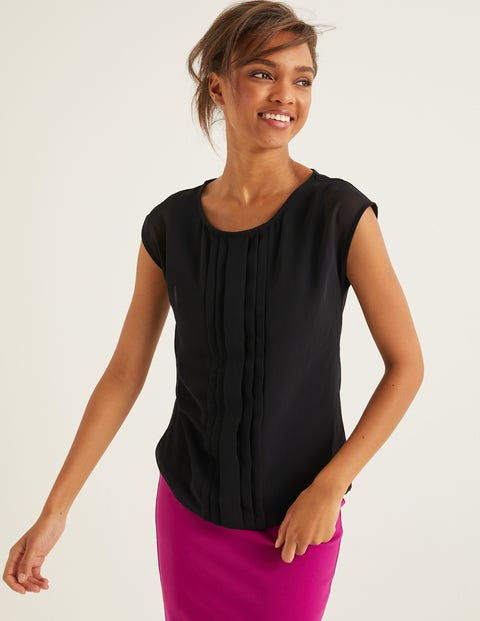 Dakota Jersey Top - Black