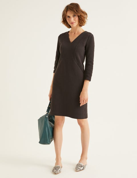Bronte Jersey Dress - Black