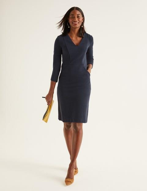 Bronte Jersey Dress - Navy