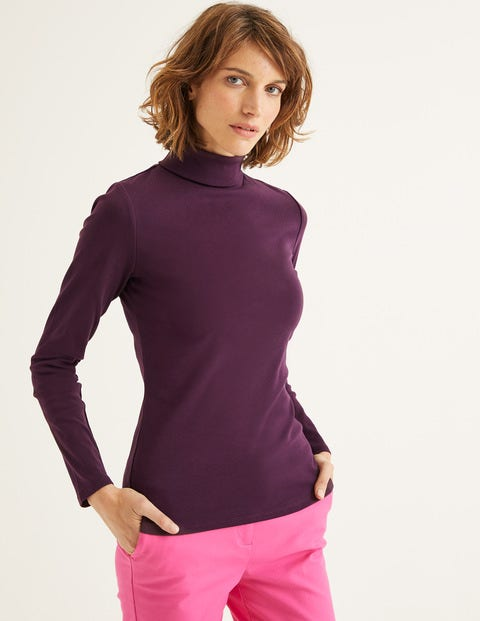 Essential Roll Neck - Fig