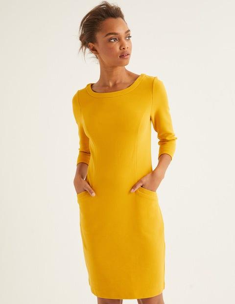 Jasmine Ottoman Dress - Saffron