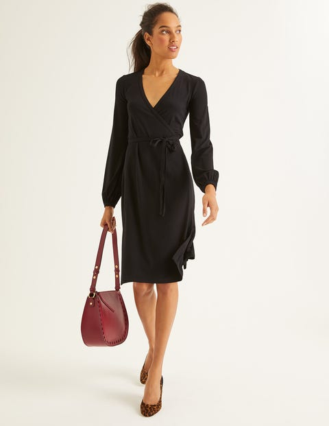 Elodie Jersey Wrap Dress