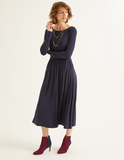 Lucille Jersey Midi Dress