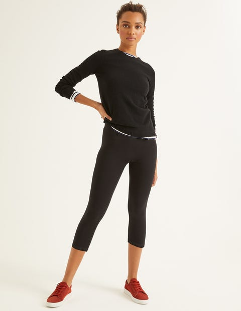 Favourite Cropped Leggings - Black