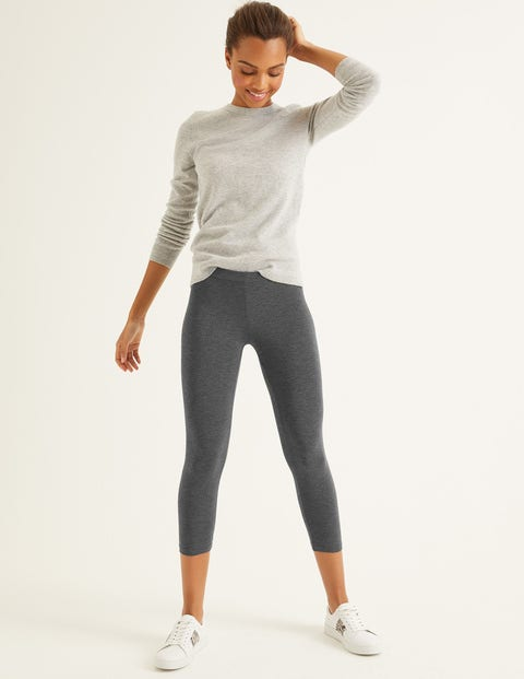 Favourite Cropped Leggings - Charcoal