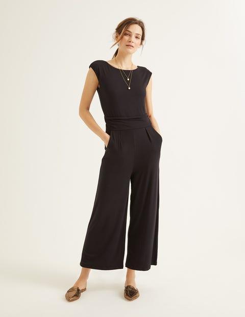 Luna Jersey-Overall - Schwarz