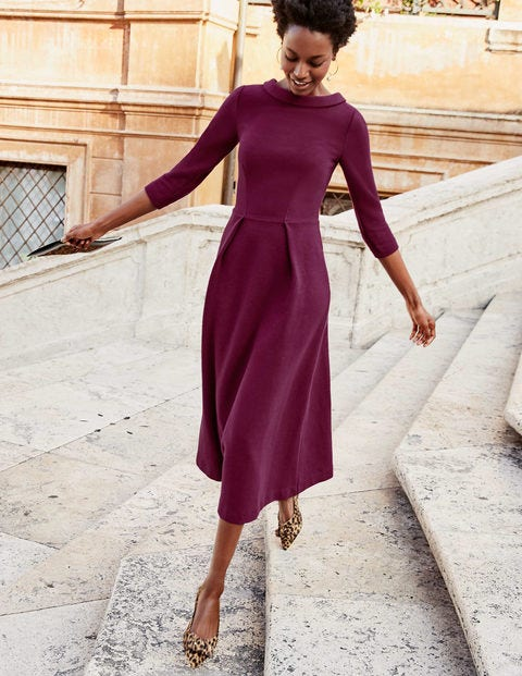 Violet Ottoman Dress - Ruby Ring