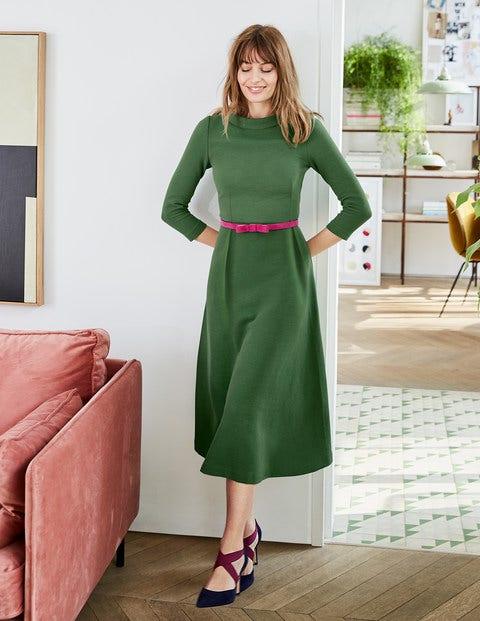 Violet Ottoman Dress - Broad Bean