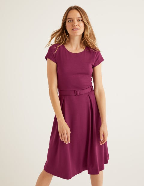 Aida Jerseykleid Purple Damen Boden, Purple