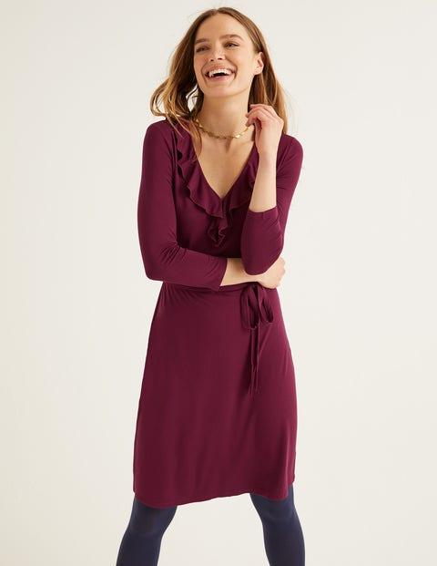 Logan Jerseykleid Purple Damen Boden, Purple