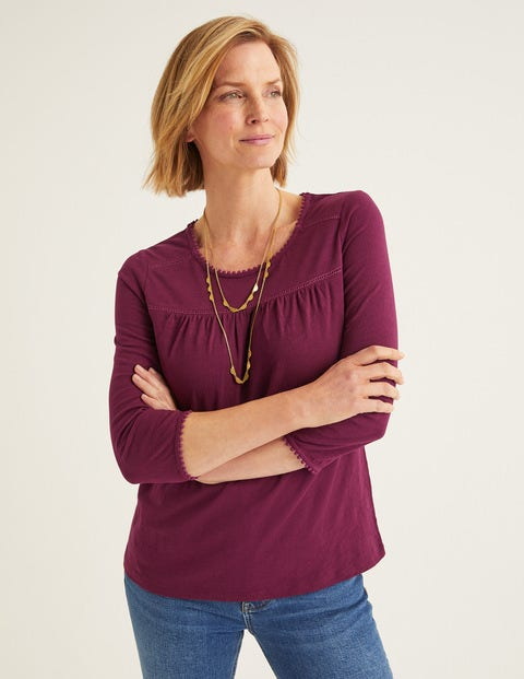 Top Julia En Jersey - Rubis