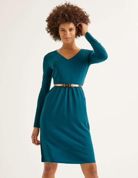 Romilly Jersey Dress - Baltic