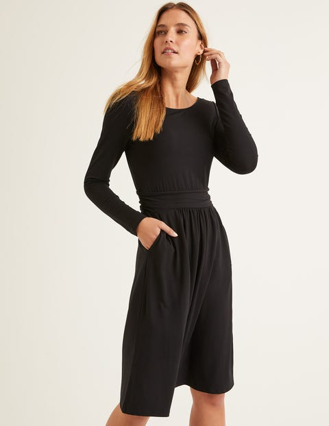 Abigail Jersey Dress - Black