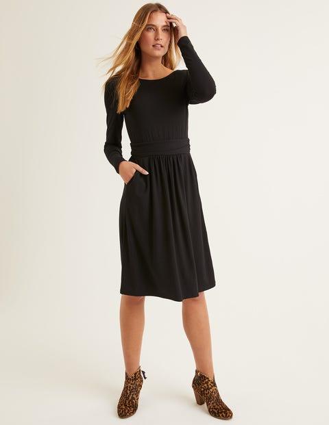 Abigail Jersey Dress - Black