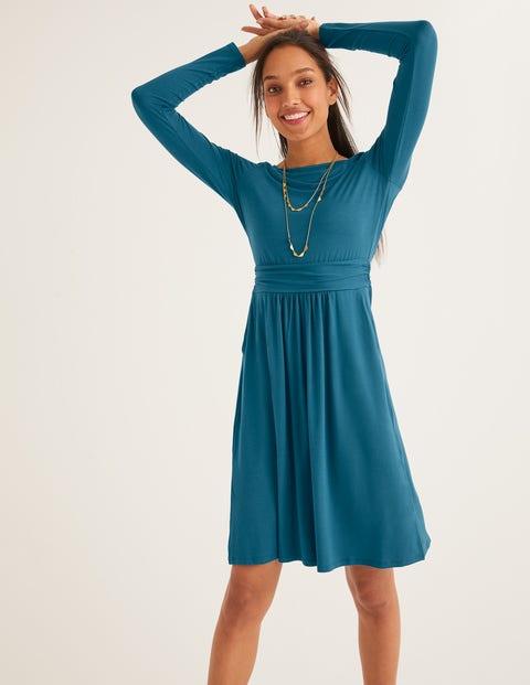 Abigail Jersey Dress - Baltic