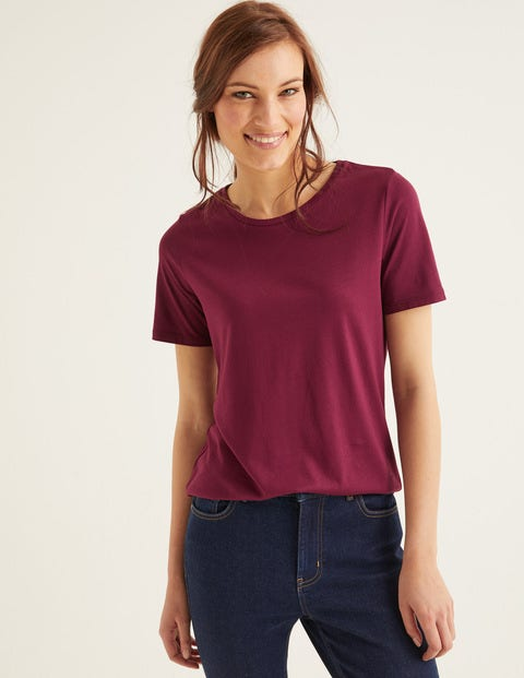 Supersoft Short Sleeve Tee - Ruby Ring