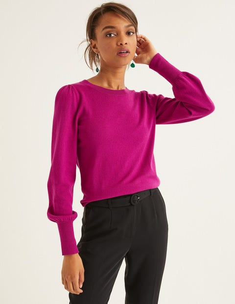 Antonia Sweater - Vibrant Plum