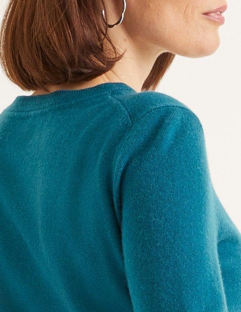 Cashmere Crew Neck Sweater - Baltic