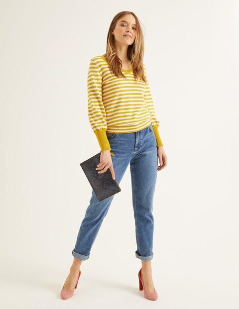 Bernice Pullover Yellow Damen Boden, Yellow