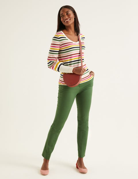 Bernice Sweater - Multi Stripe