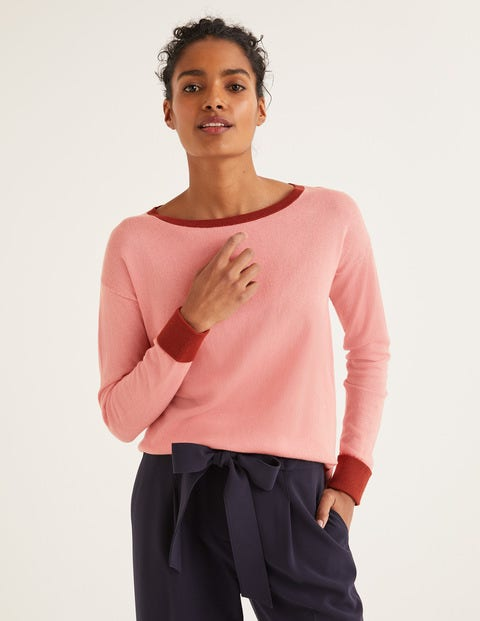 Lucille Jumper - Chalky Pink