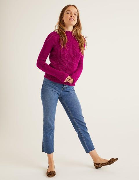 Claire Pullover Purple Damen Boden, Purple