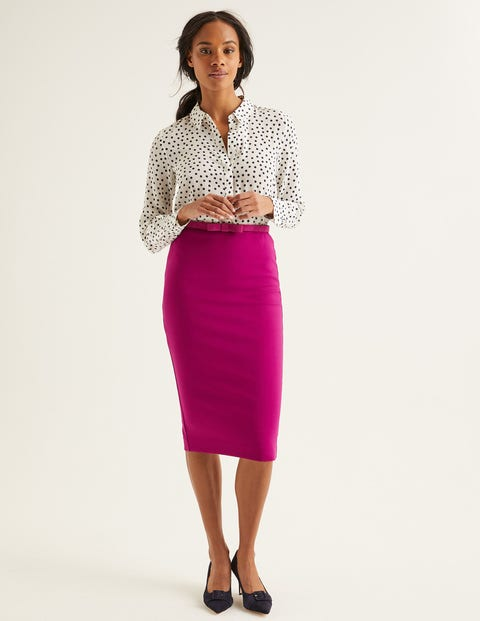Hampshire Ponte Skirt