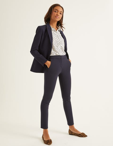 Hampshire 7/8 Trousers - Navy